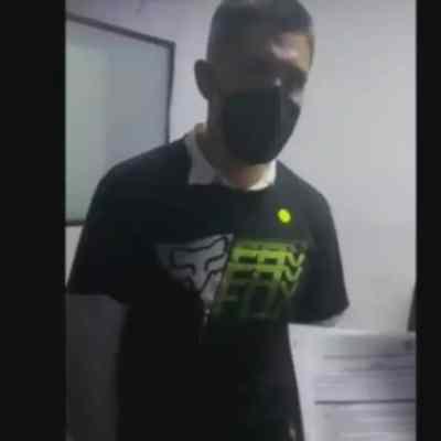 Video: Así se entregó Diego Armando 'H', acusado de tentativa de feminicidio (FOROtv)