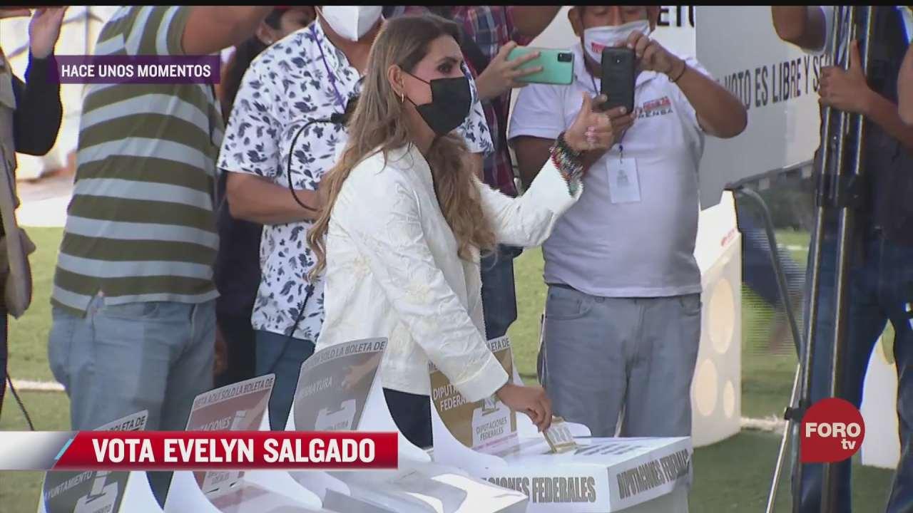 vota evelyn salgado candidata a gobernadora de guerrero