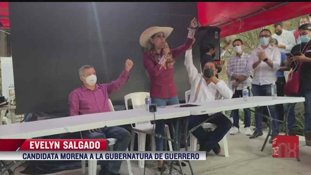Evelyn Salgado asegura triunfo de Morena por gubernatura de Guerrero