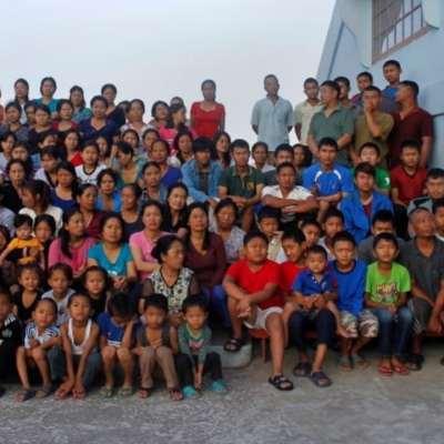 Ziona Chana y su familia