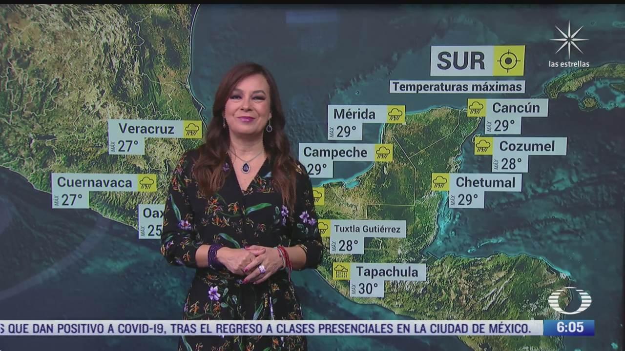zona de baja presion provocara fuertes lluvias en mexico