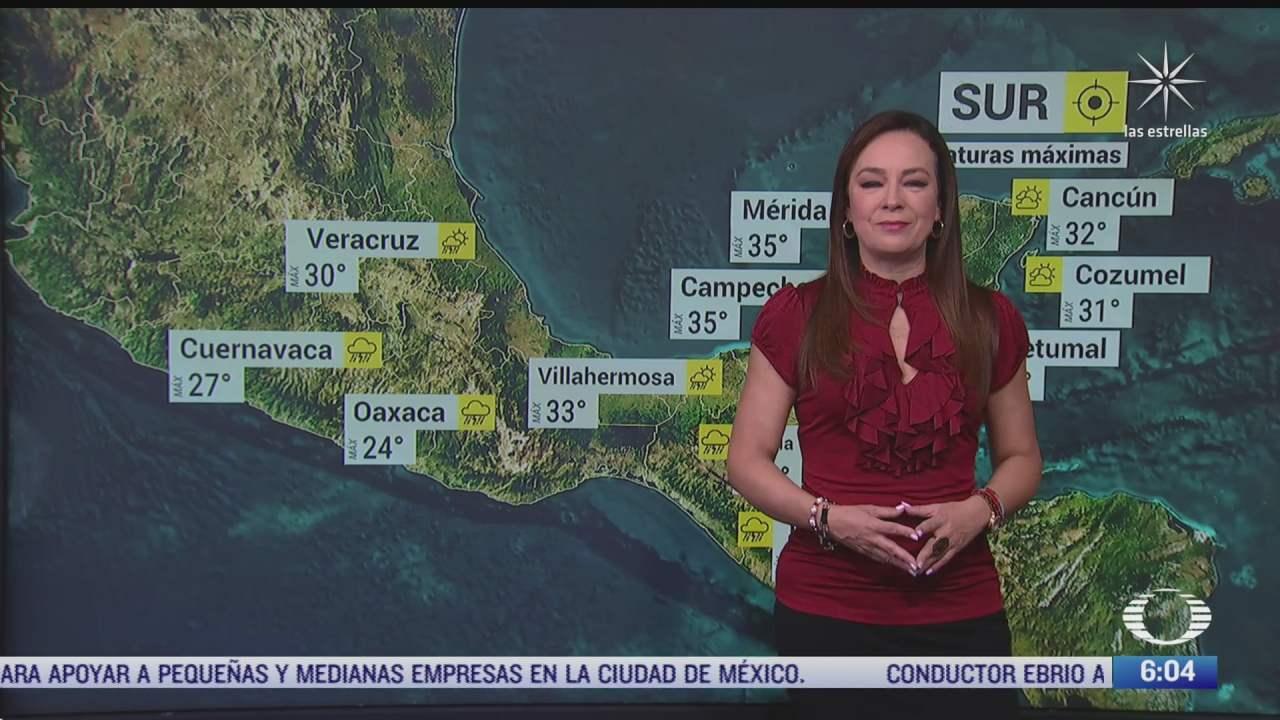 zona de inestabilidad provocara lluvias fuertes en mexico