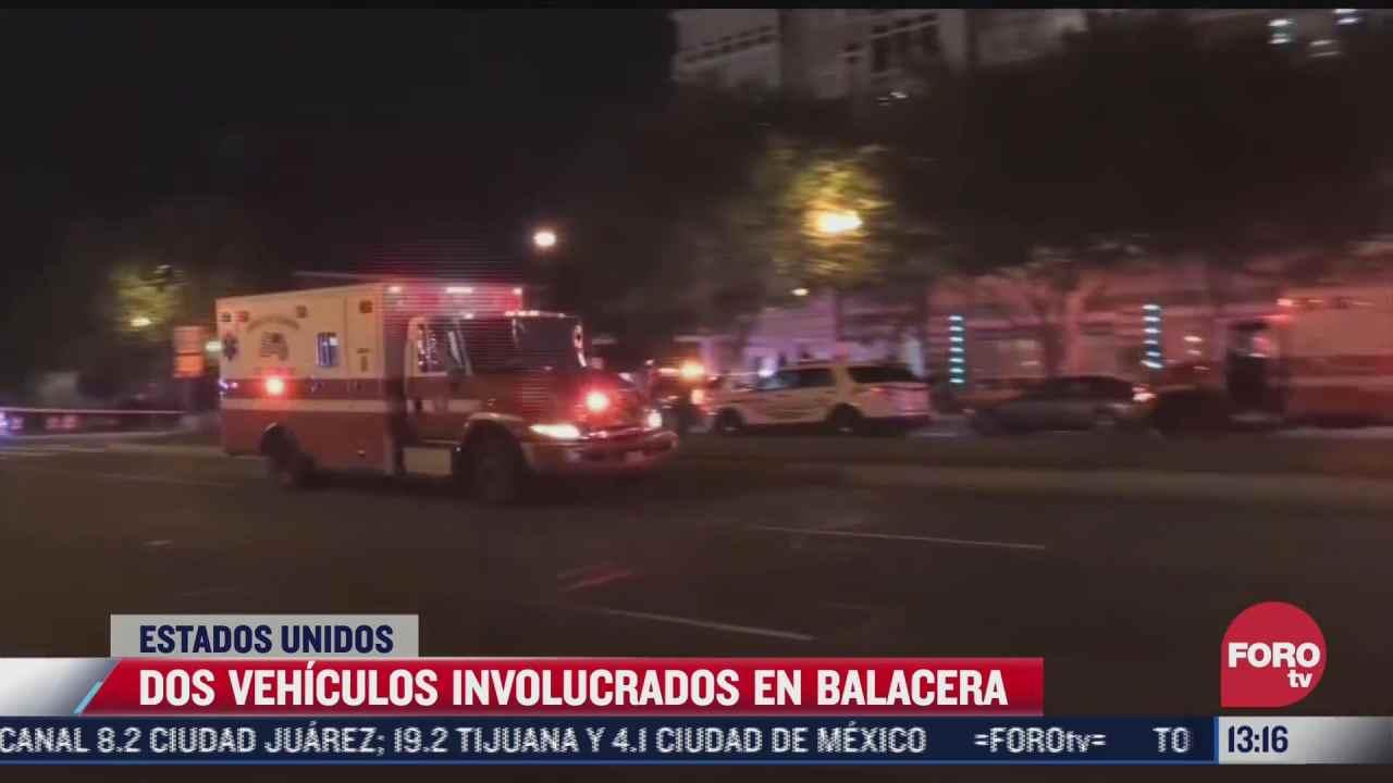 2 autos involucrados en balacera afuera de estadio en eeuu