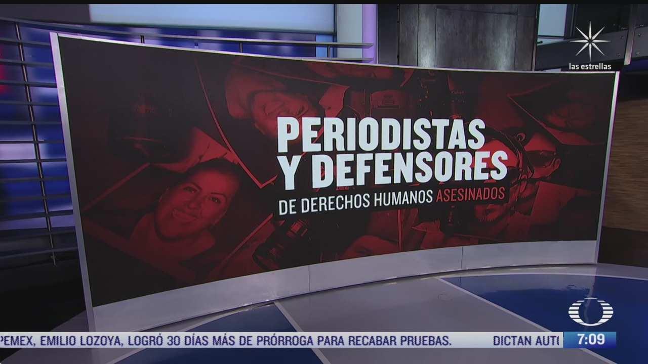 43 periodistas han sido asesinados en mexico desde