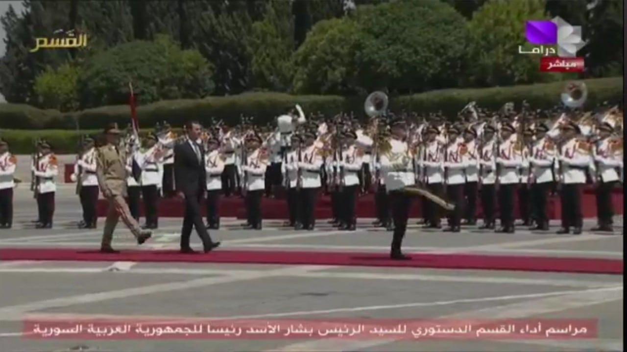 Al Assad jura su cargo como presidente de Siria por cuarta vez