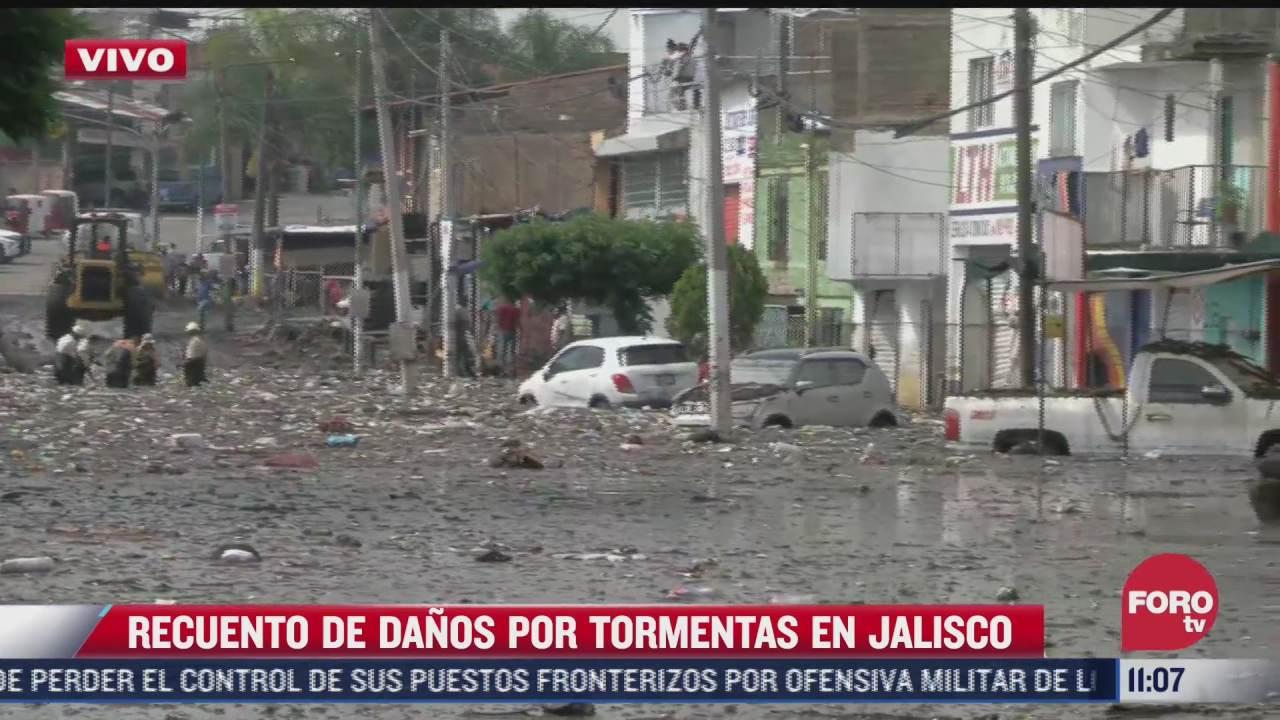 al menos 700 familias afectadas por tormenta e inundaciones en jalisco