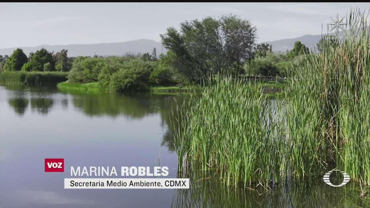 alistan segunda etapa de restauracion de parque ecologico de xochimilco