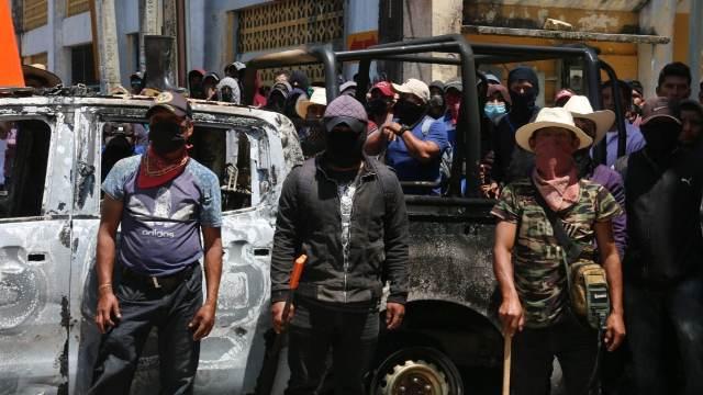 Autodefensas 'El Machete' tendrían retenidas a 21 personas en Pantelhó