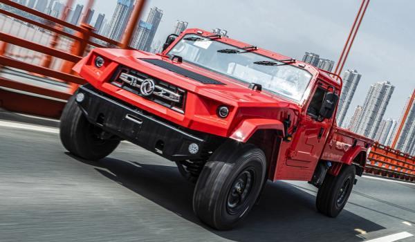 Lanzan en China su versión cop de la camioneta Hummer