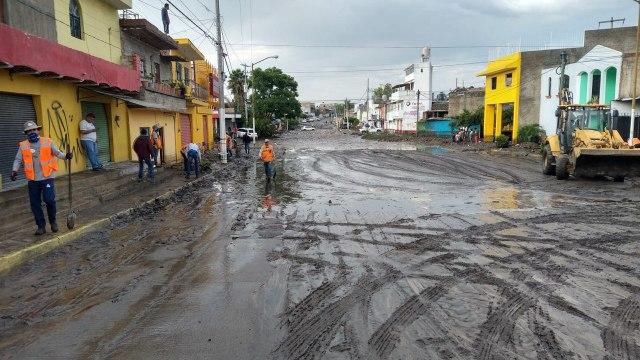 Fuerte lluvia deja daños severos en 10 colonias de Zapopan, Jalisco (Gobierno de Zapopan)