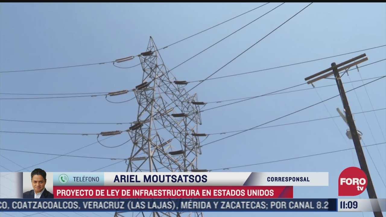 eeuu impulsa proyecto de ley de infraestructura