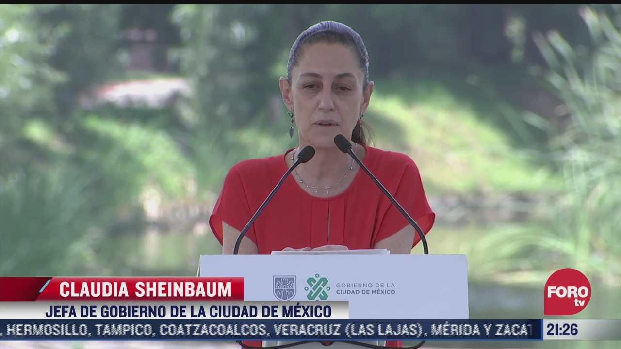 entregan trabajo de rehabilitacion del parque ecologico de xochimilco