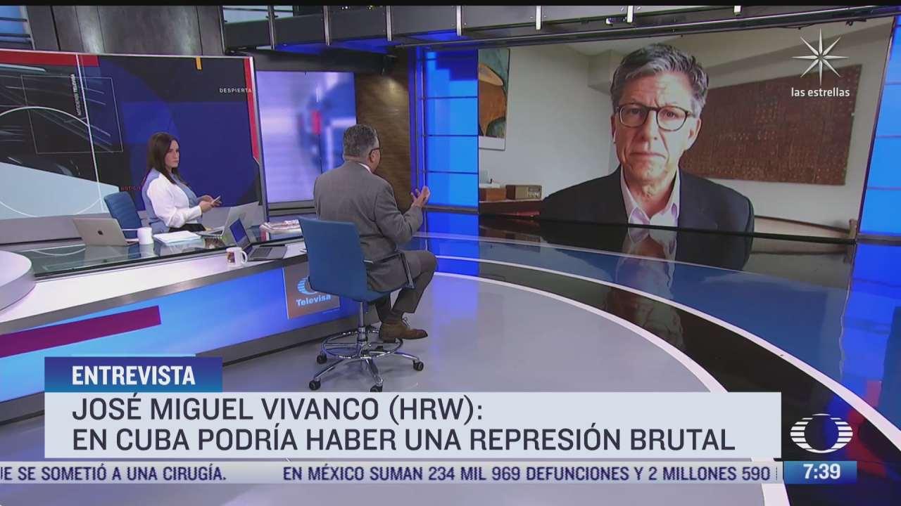 entrevista con jose miguel vivanco director ejecutivo de la division america de human right watch para despierta