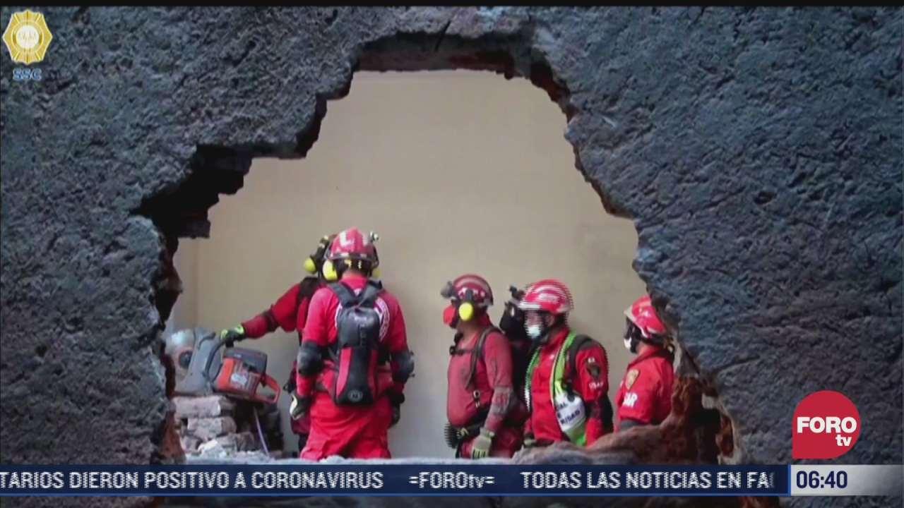 erum acreditada para rescatar a personas atrapadas en inmuebles colapsados en cdmx
