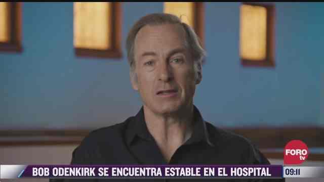 espectaculosenexpreso bob odenkirk se encuentra estable en el hospital