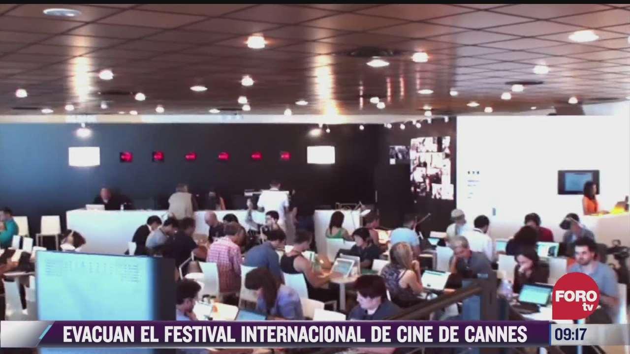 espectaculosenexpreso evacuan el festival internacional de cine de cannes