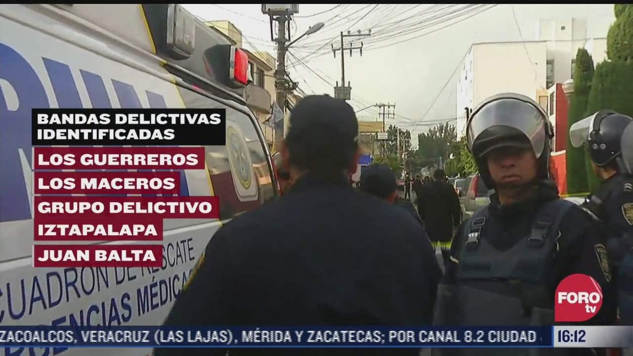 estas son las 11 organizaciones criminales que operan en la ciudad de mexico