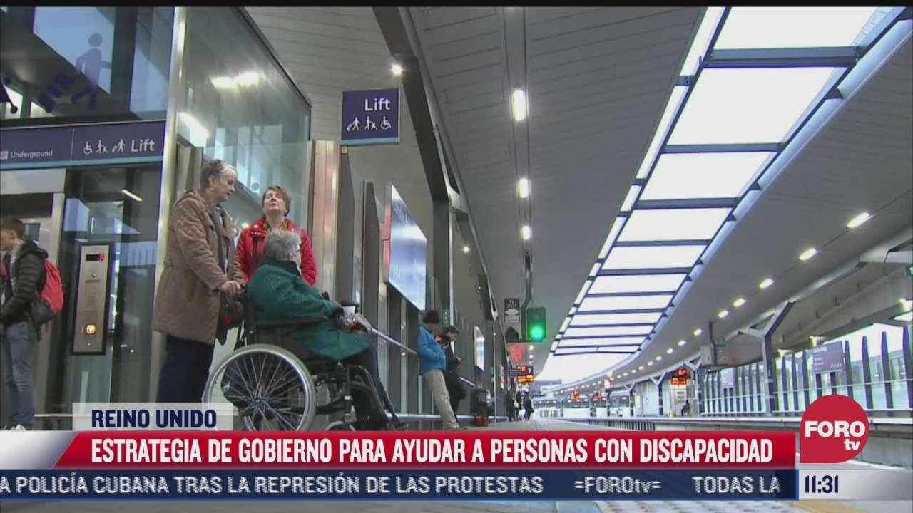 estrategia del reino unido para ayudar a personas con discapacidad