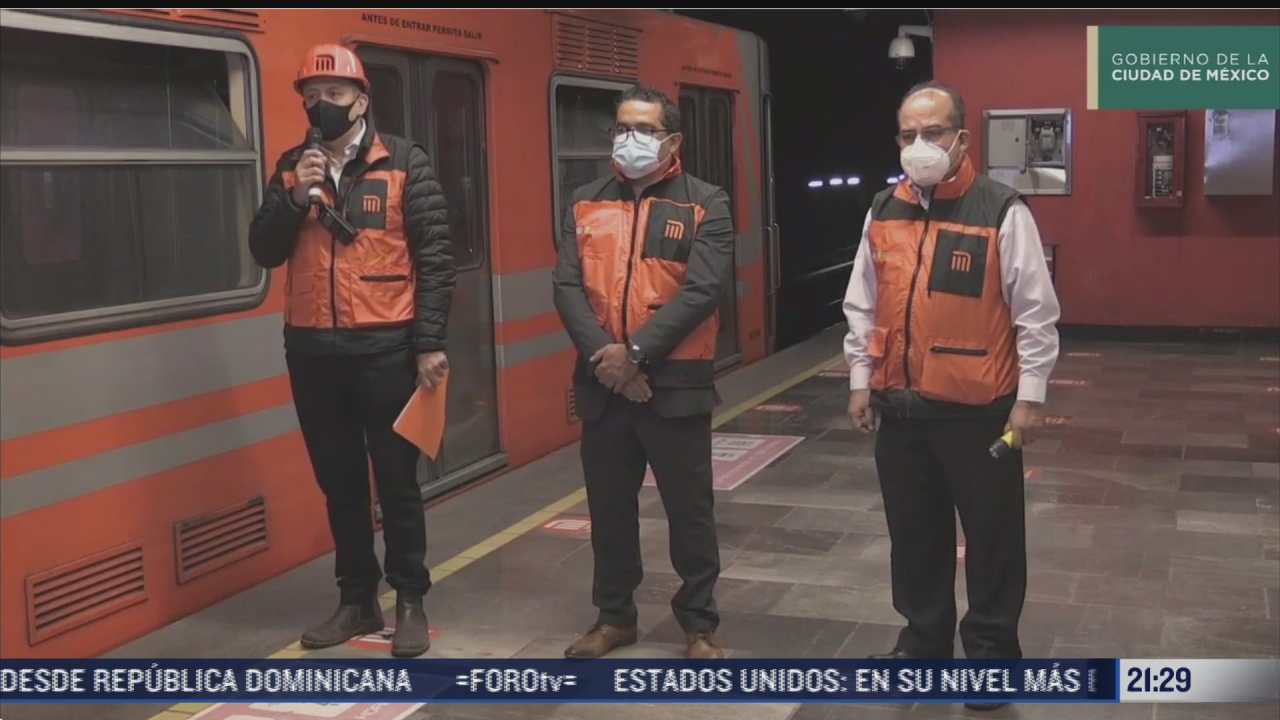 falla en la linea 6 del metro provoca caos
