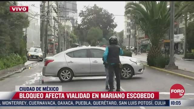 familiares de desaparecidos bloquean mariano escobedo frente a las instalaciones de la onu