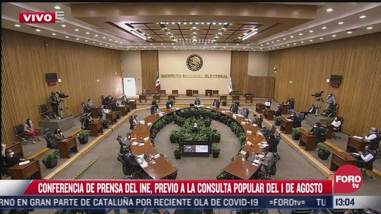 ine realizara un conteo rapido de la consulta popular lorenzo cordova