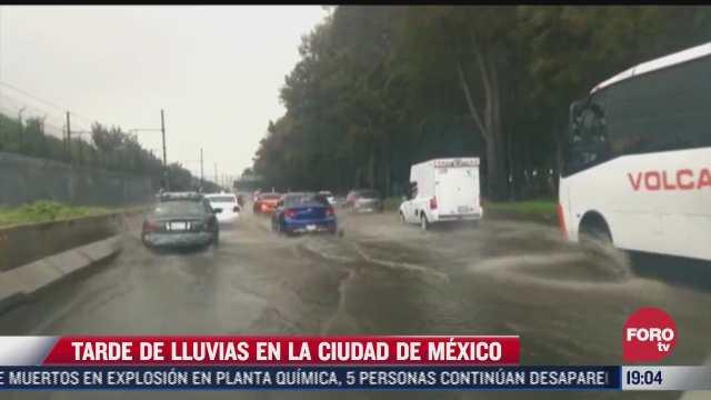 lluvias provocan inundaciones en la ciudad de mexico