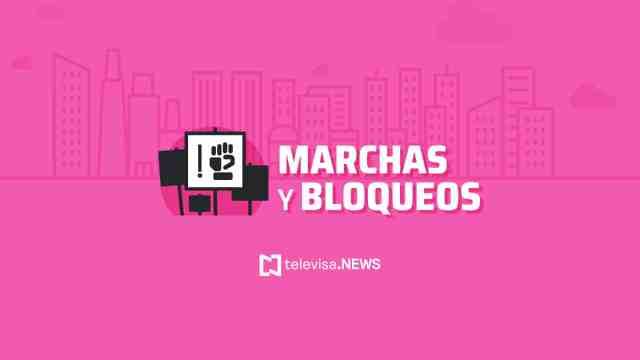 Autoridades de la Ciudad de México informaron que este domingo habrá ocho marchas en la capital del país.
