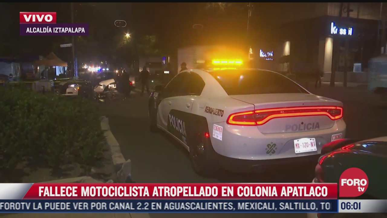 muere motociclista atropellado por trailer en iztapalapa