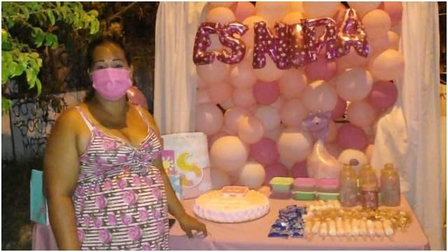 Mujer en Sinaloa se hace viral tras hacer baby shower y nadie asistiera