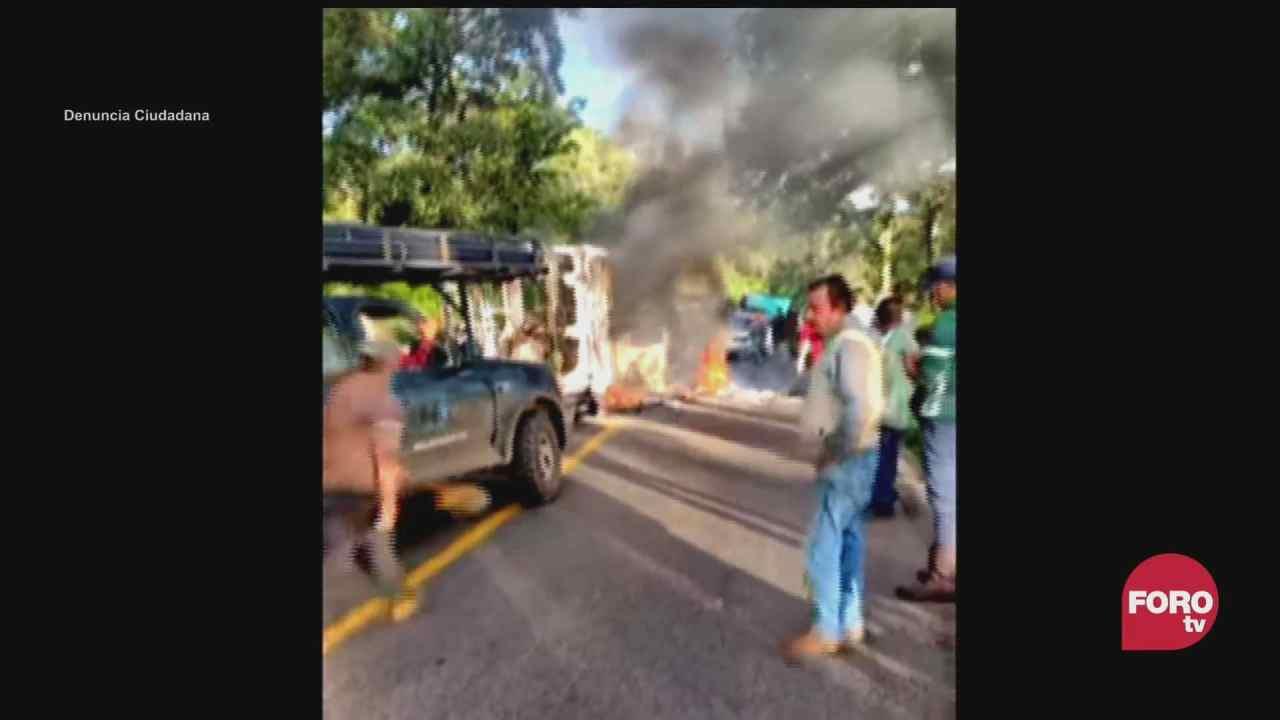 nueva jornada de violencia en michoacan