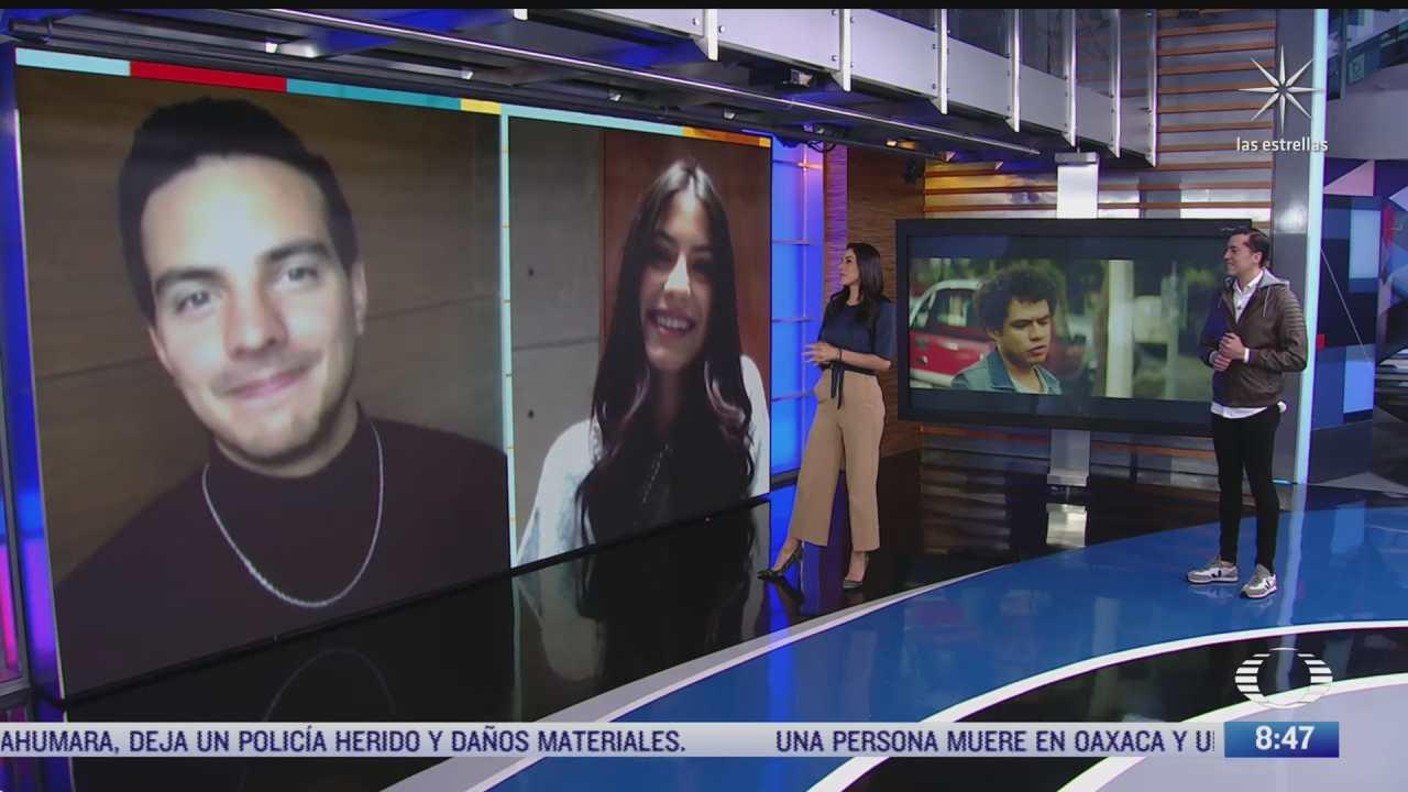 paola rojas entrevista a barbara lopez y vadhir derbez sobre el mesero