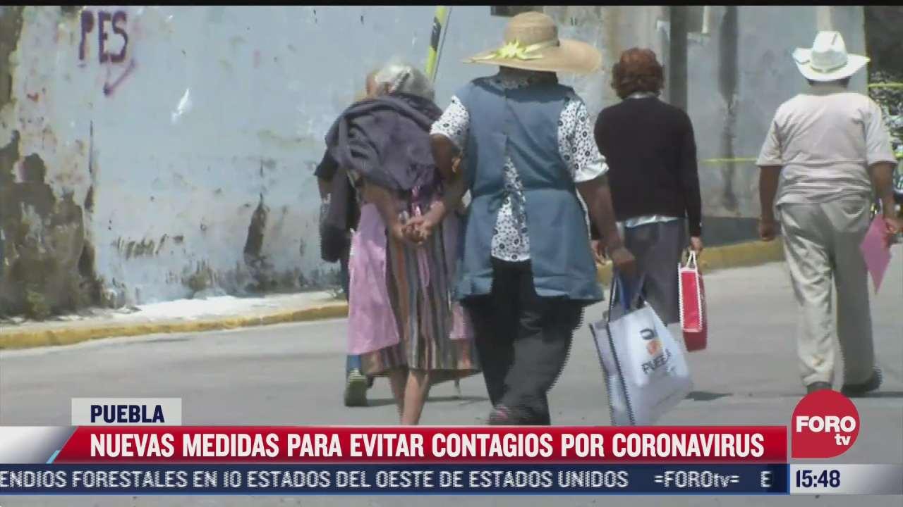 puebla anuncia nuevas medidas para evitar contagios por covid