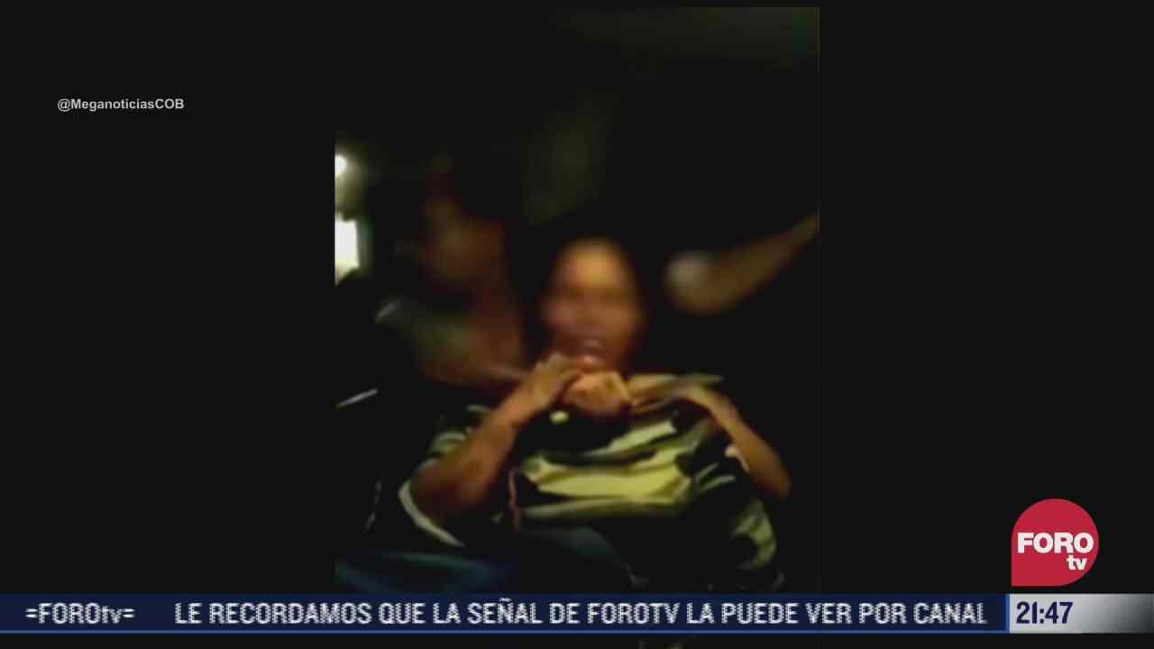 rescatan a 37 rehenes de autobus robado en sonora