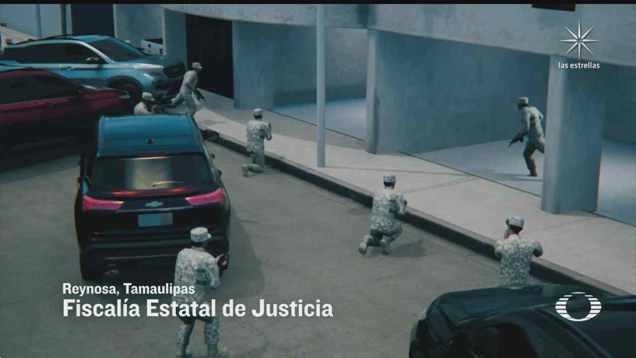 rescatan a miembro del cartel del golfo detenido en reynosa tamaulipas