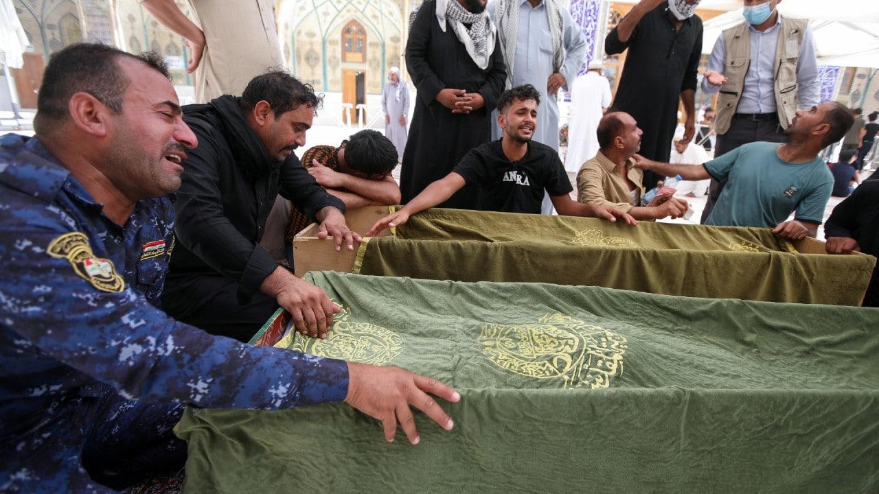Sube a 64 la cifra de muertos por incendio en un hospital COVID en Irak