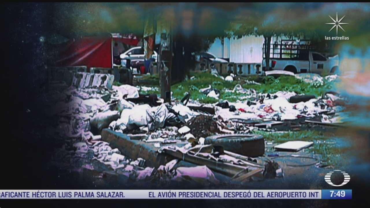 tiraderos de basura clandestinos en la ciudad de mexico parte