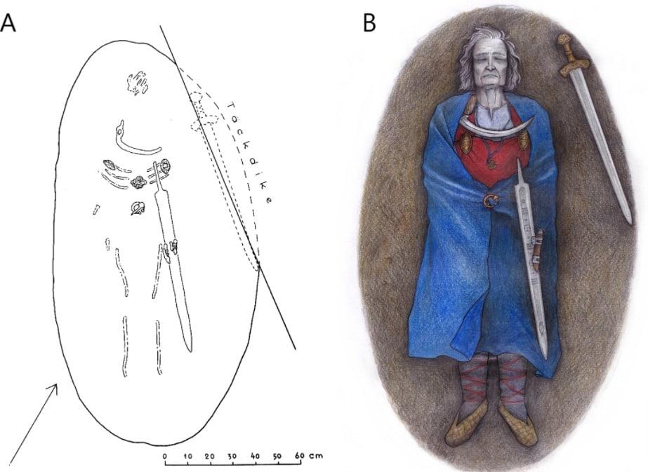 Guerrero medieval enterrado en Finlandia era intersexual