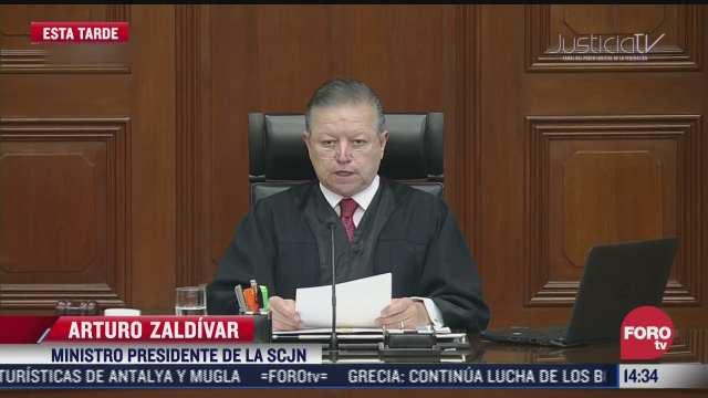 arturo zaldivar se resolveran asuntos de mayor trascendencia para orden juridico