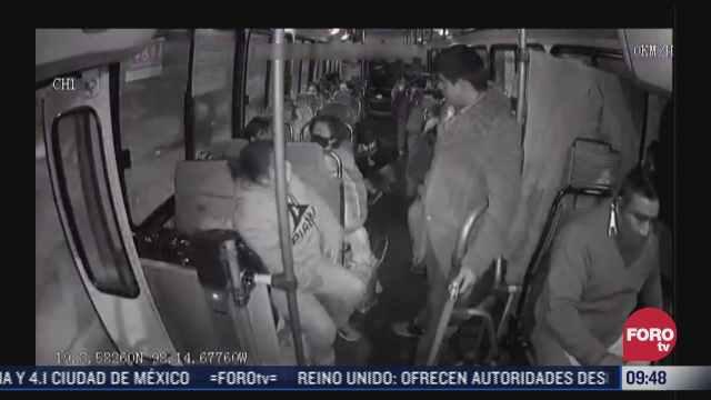 buscan reducir asaltos en transporte publico con nuevas tecnologias