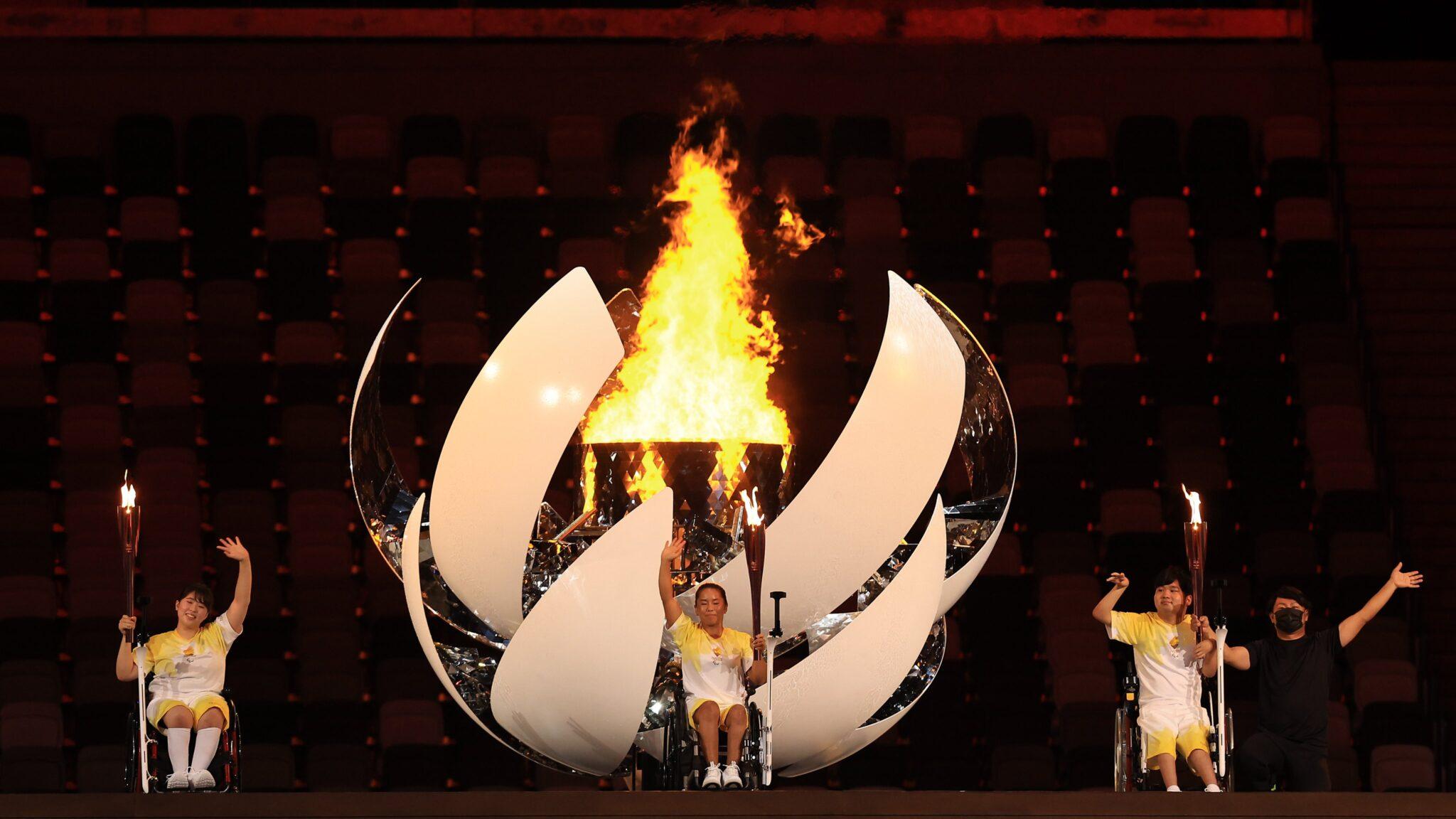 Ceremonia de inauguración de los Juegos Paralímpicos de Tokio 2020 Fotos