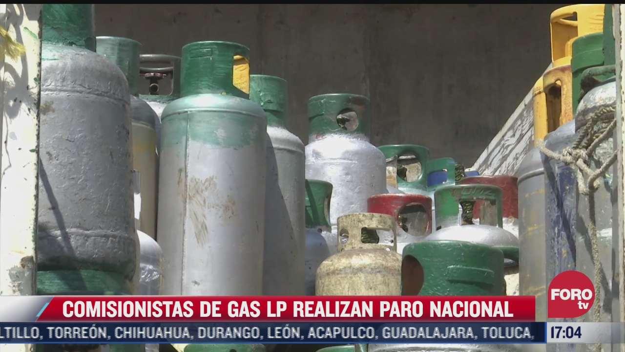 comisionistas de gas lp en paro nacional