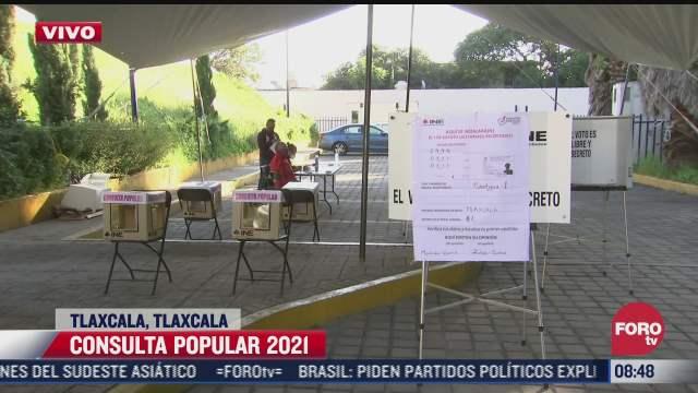 consulta popular 2021 se realiza con protocolos sanitarios por covid