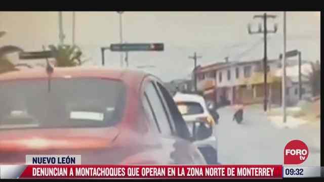 denuncian a montachoques que operan en zona norte de monterrey