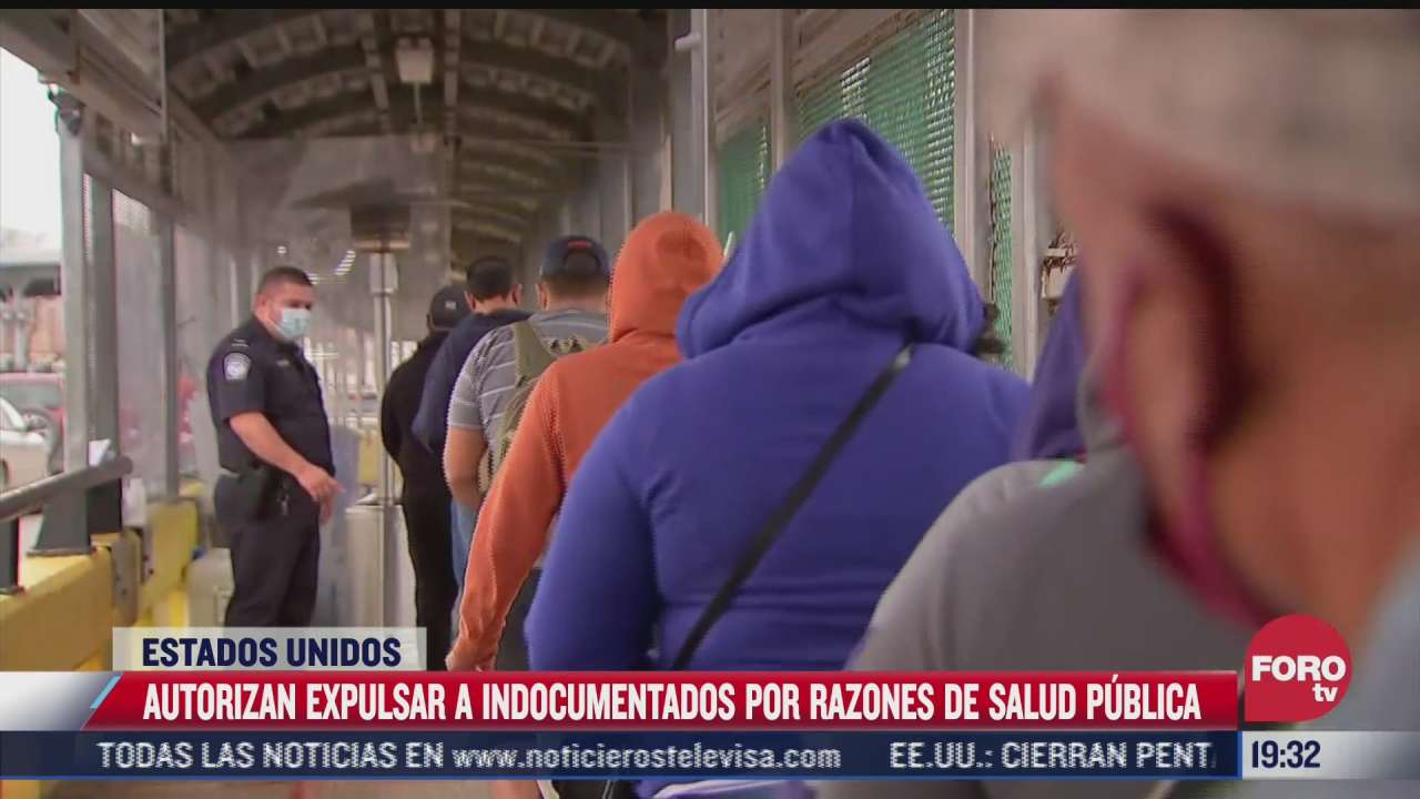 eeuu autoriza medida que permitira expulsar a migrantes ante covid