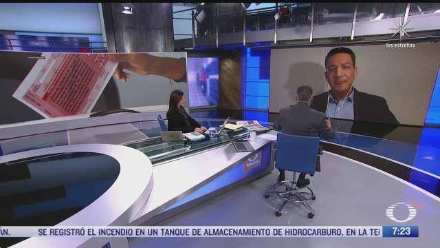 entrevista a alejandro monsivais carrillo en despierta sobre la consulta popular