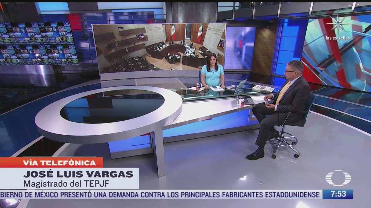 entrevista a jose luis vargas tras destitucion como presidente del tepjf en despierta