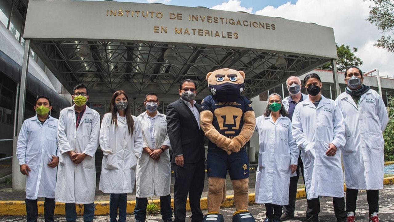 UNAM desarrolla cubrebocas que inactiva partículas COVID-19