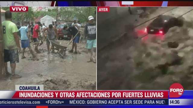 lluvias dejan afectaciones en torreon coahuila