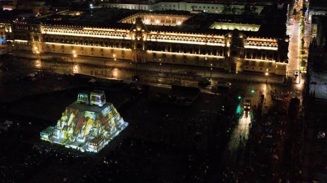 """Inauguran el espectáculo """"Memoria Luminosa"""" en CDMX (Cuartoscuro)"""