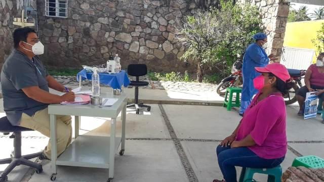 Más del 40% tienen COVID-19 en Tequisistlán, Oaxaca